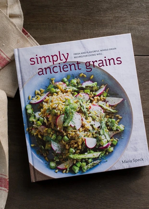 Maria Speck's second cookbook, Simply Ancient Grains, is a rich resource for wholesome foods, including a stunning Quinoa Salad with Roasted Red Beets, Oranges and Pomegranate.