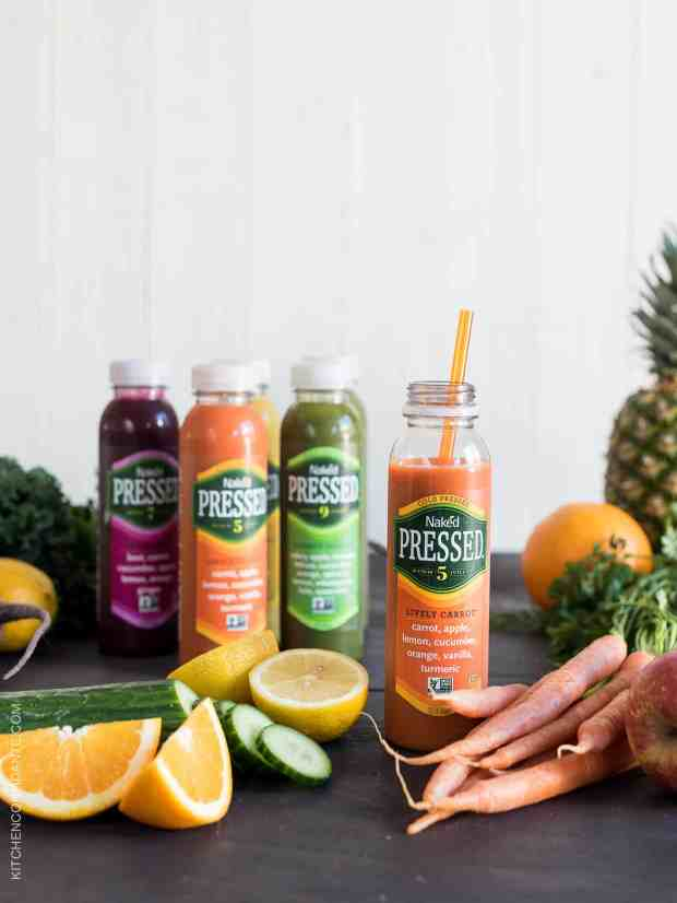 The Lively Carrot Naked Cold Pressed Juice is one of my favorite flavors.
