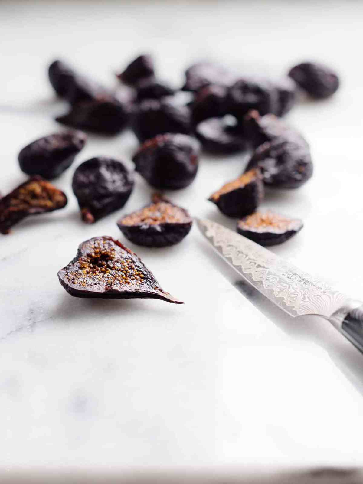 Dried figs add sweetness to a luscious loaf of Chocolate Banana Fig Bread!