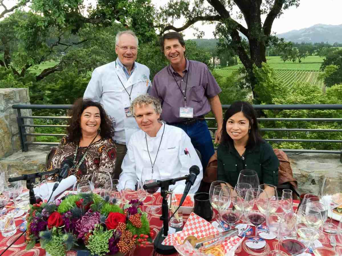 Judges at the Sutter Home 25th Annual Build a Better Burger Cookoff.