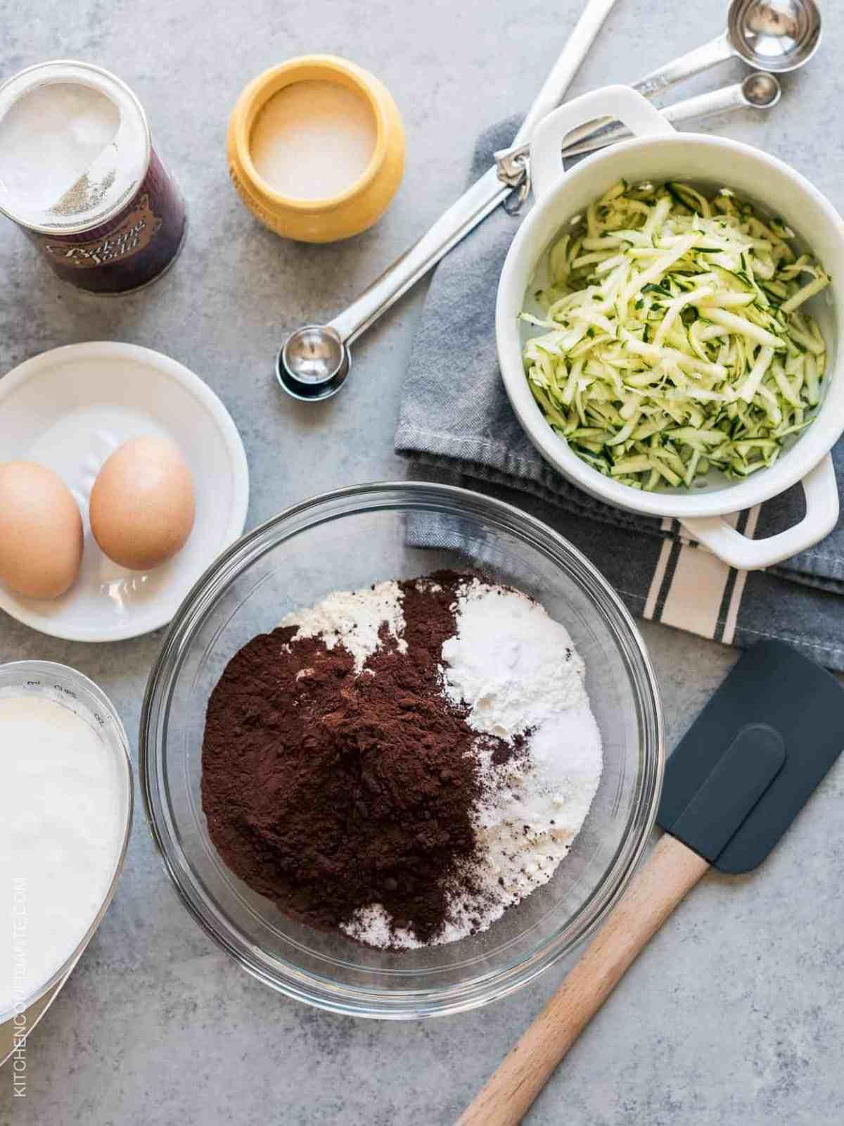 Chocolate Zucchini Beglian Waffles | www.kitchenconfidante.com