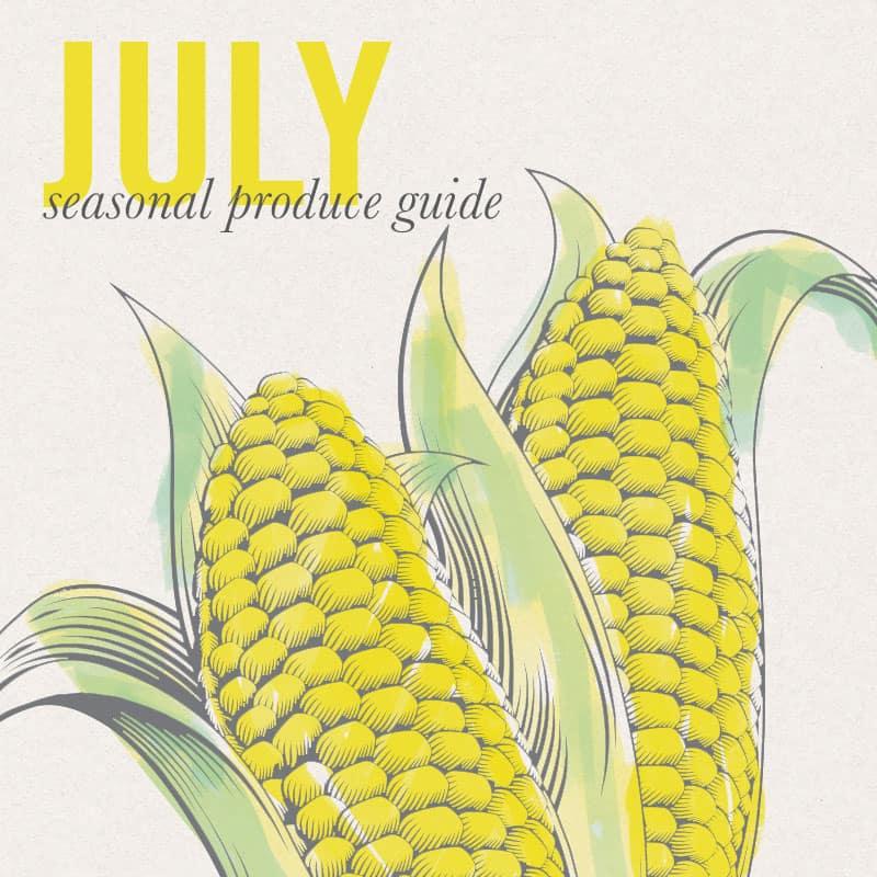 Eat Seasonal July 2016