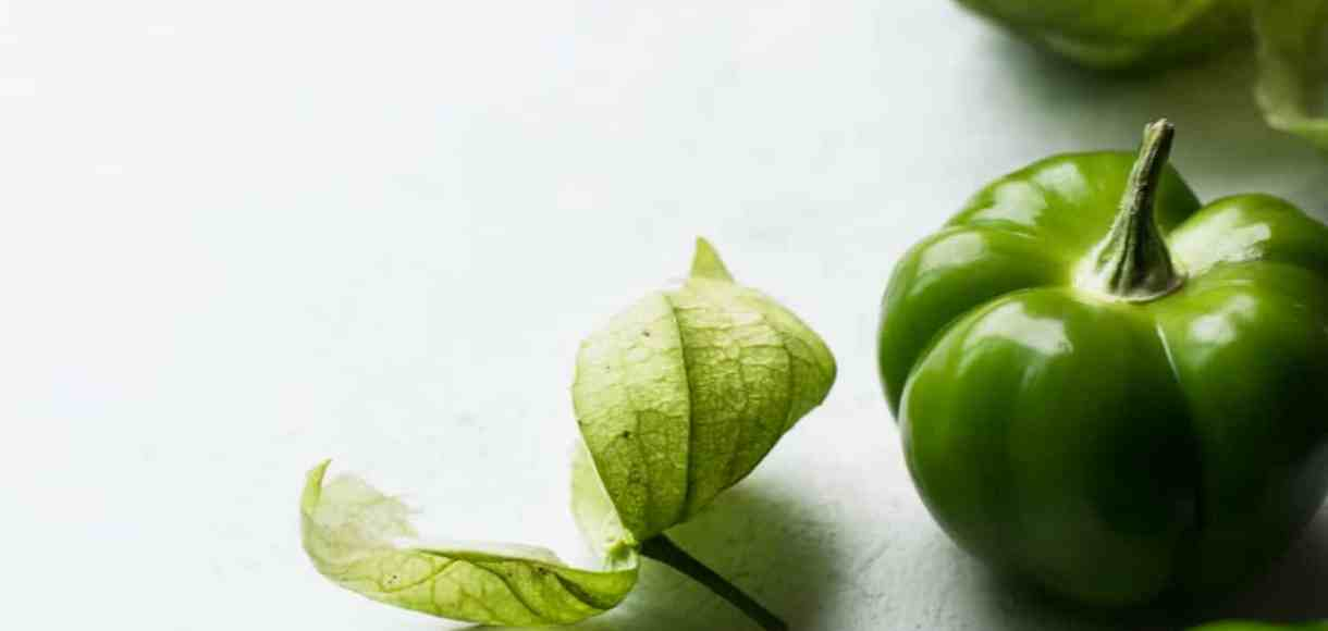 Several green tomatillos on a counter top | Five Little Things I loved the week of October 21, 2016