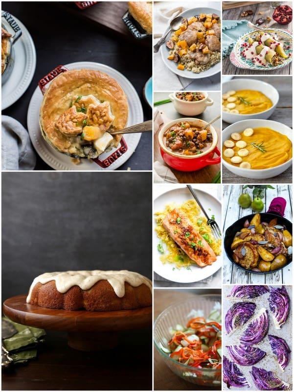 October Seasonal Recipes