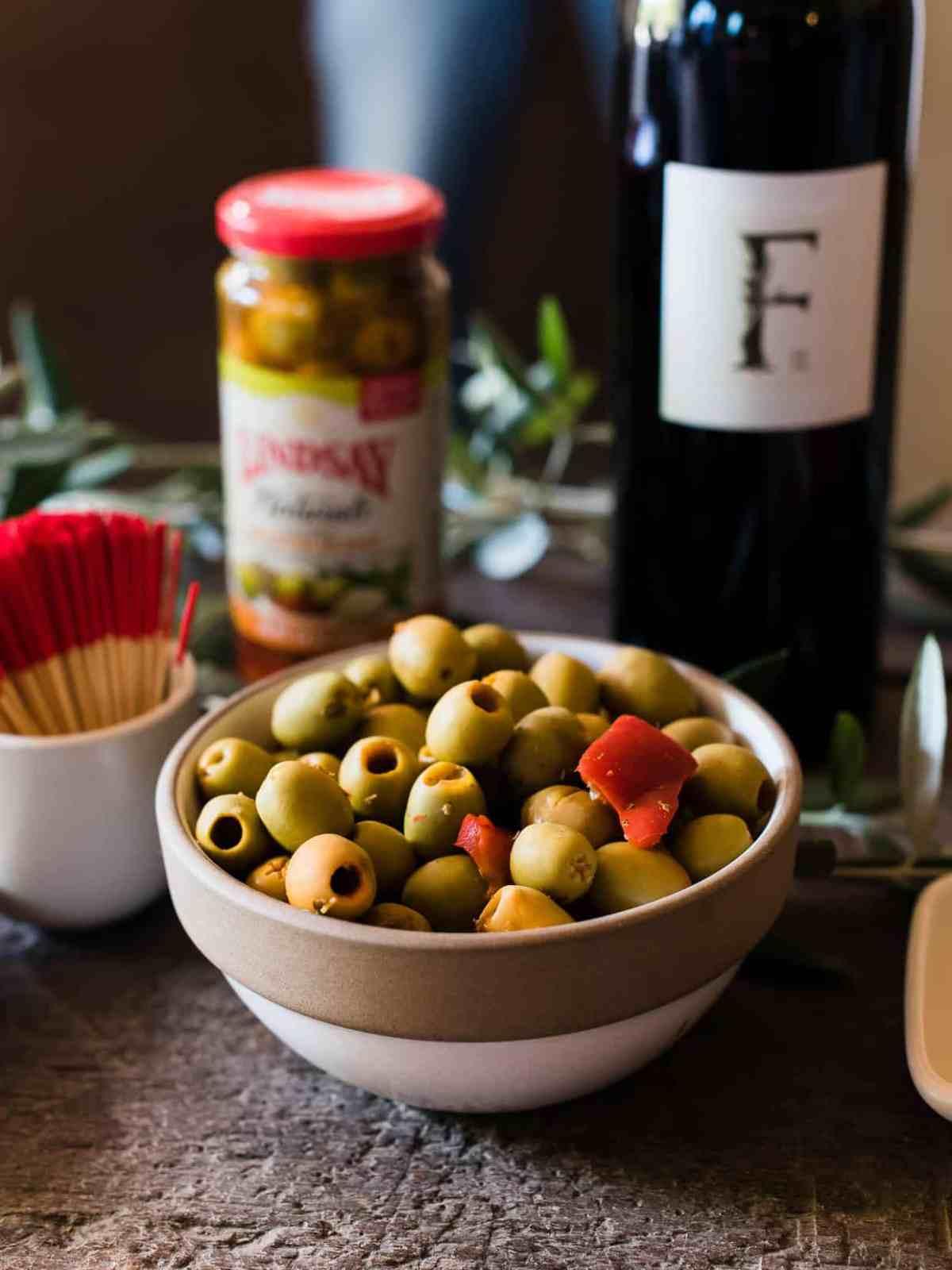 Fresh olives from Lindsay Olives.