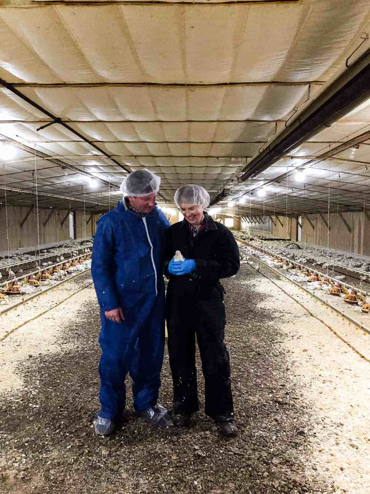 Chicken Check In and how broiler chickens are raised - learn the truth behind chicken farming. #sponsored by the National Chicken Council