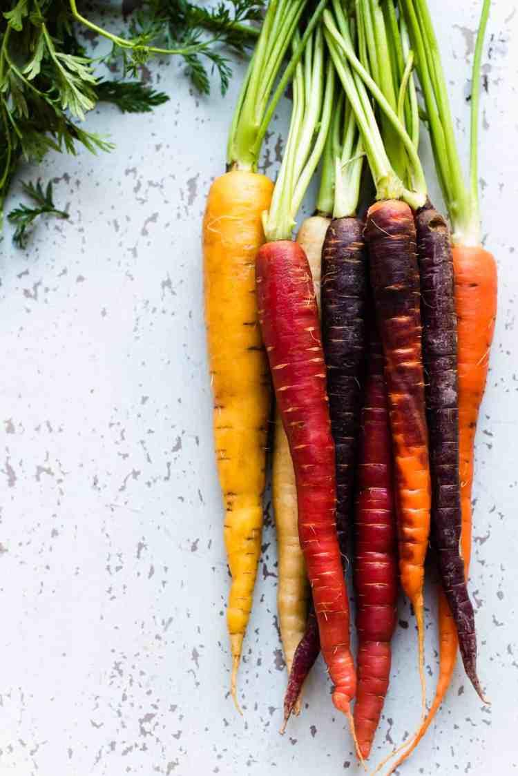 Carrots for Honey-Spice Glazed Carrots.