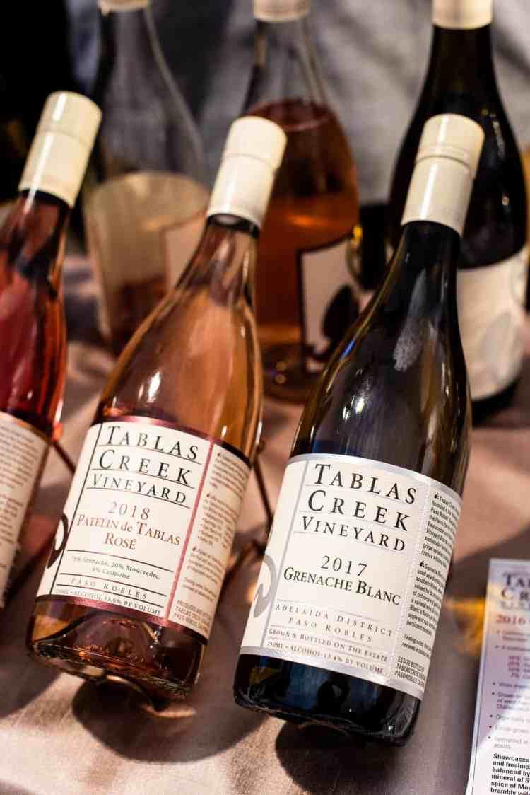 Tablas Creek Wines, PBFW Grand Tasting, 2019.