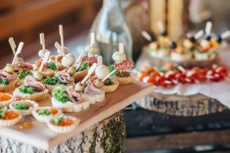 Kitchen Consultants provide client specific foods for sales meetings