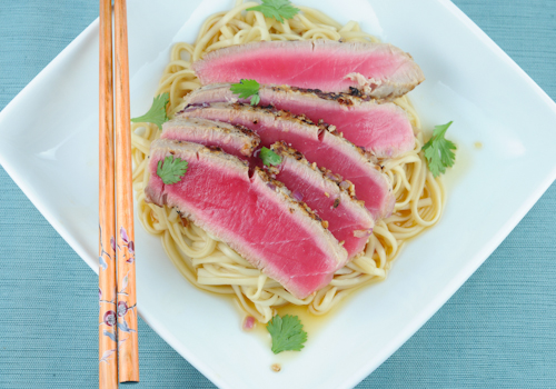 Everything Tuna With Udon Noodles Recipe