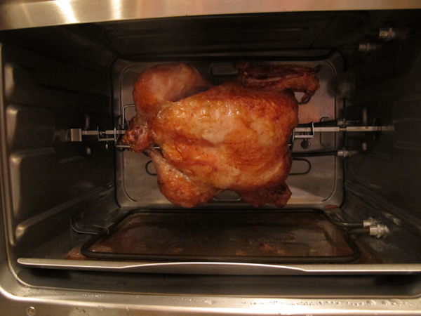 How wolfgang puck saved thanksgiving for Wolfgang puck pressure oven