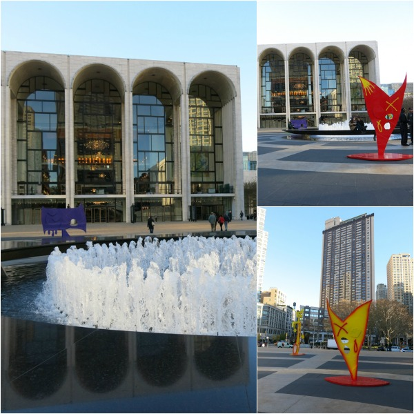 A tourist in my town- Central Park, Lincoln Center and the NY Public Library