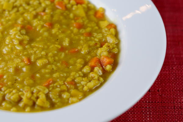 Vegetable Barley Soup with Taste of Little India-3