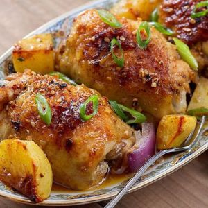 Best Garlic Chicken and Potatoes