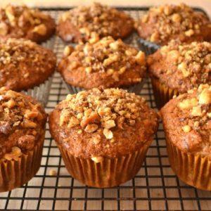 Mash Banana Muffins Recipe.