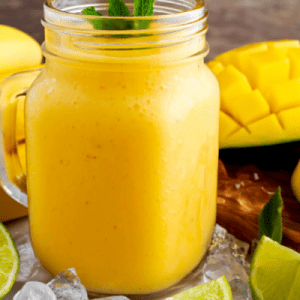 Mango Lime Smoothie