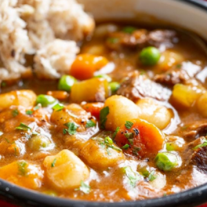 Hearty Beef and Gnocchi Soup