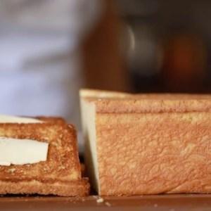 Homemade Brioche Loaf.