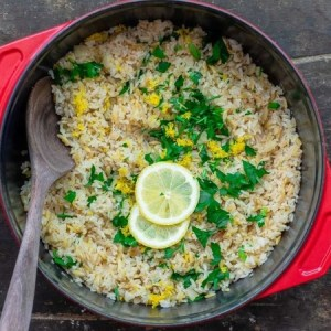 Lemon Rice is a Great Way To Liven Up Your Plain Rice