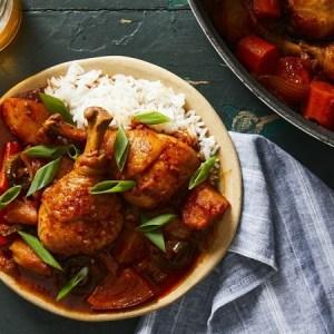 Spicy Chicken and Potato Stew