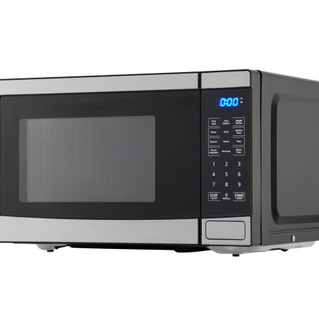 mainstays em720c2wt pm 0 7 cu ft 700w stainless steel microwave oven