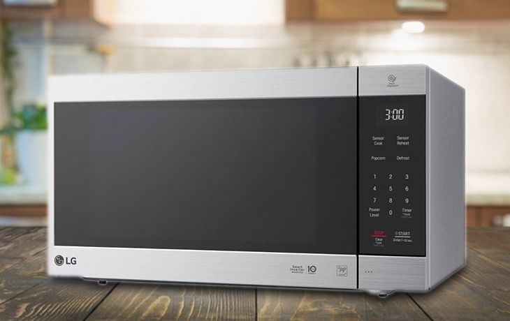lg lmc2075st neochef 2 0 cu ft countertop microwave oven