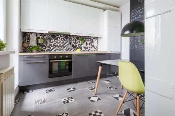 Серая кухня в интерьере: дизайн и цветовые сочетания (135 ...