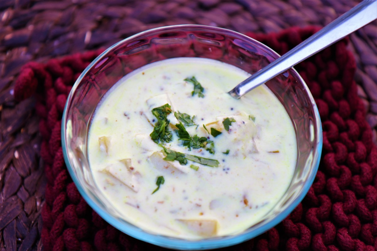 Paldah – Curried Yogurt with Potatoes