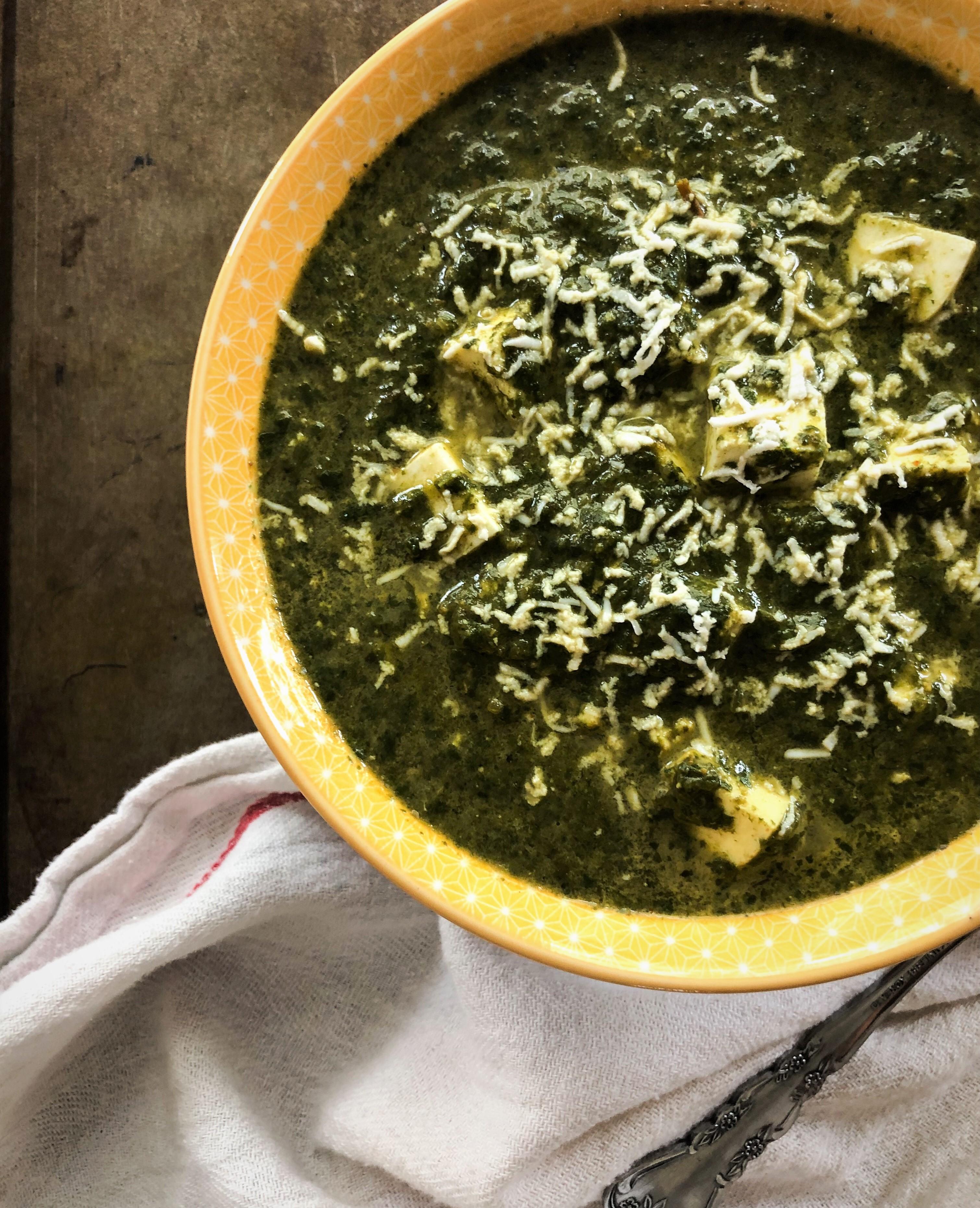 Instant Pot Saag Paneer The Kitchen Docs