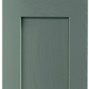 Solid Wood Dust Grey Door
