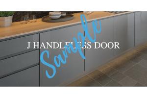 J Handleless Door Sample