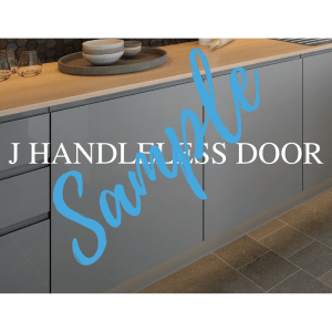 J Handleless Door Sample