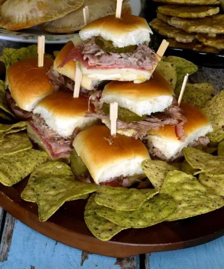 This variation of the classic Cuban sandwich is called Medianoche, and is traditionally served on sweet bread rather than the typical Cuban bread. | kitchendreaming.com |