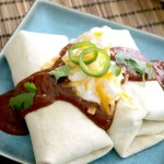 These Cheesy Beef and Bean Burritos make a great lunch, dinner or snack on-the-go. They are freezer friendly and reheat easily in the microwave.