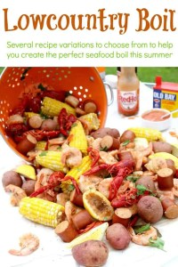 One thing is for certain though – no matter how you cook your Lowcountry Boil, with or without beer, with or without crab and crawfish - there won't be any left! It's the perfect summer feast that all your guests will enjoy.