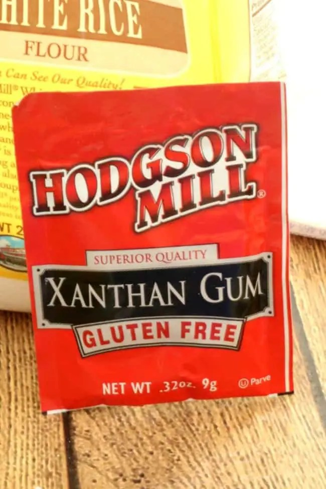 image of a package of Xanthan Gum