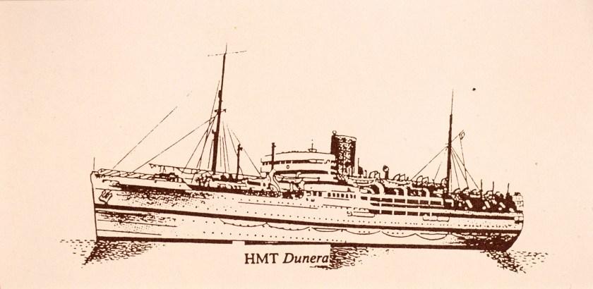 Kitchener camp, Sandwich, HMT Dunera by Hans Jackson