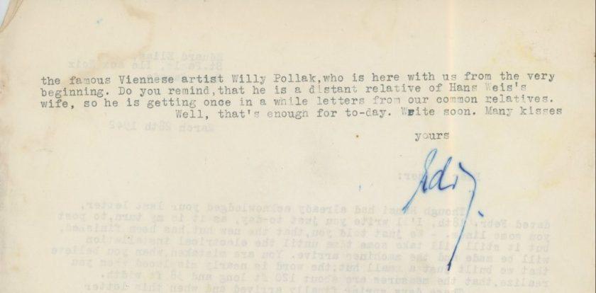 Eduard Elias, Letter, 14 March 1942, Ill aux Noix, Canada, Richborough, page 2
