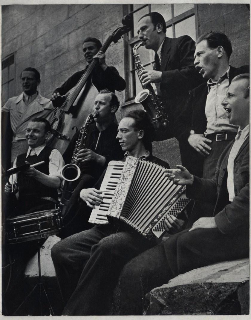 Richborough camp, Some Victims, 1939 - musicians