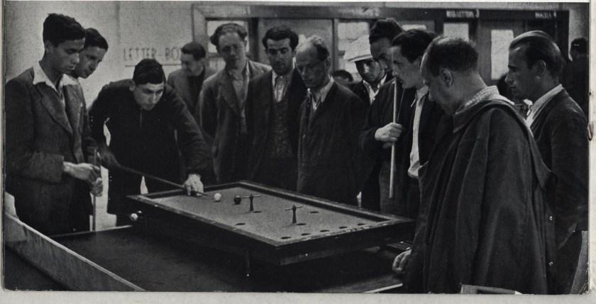 Kitchener camp, Some Victims, 1939 - billiards
