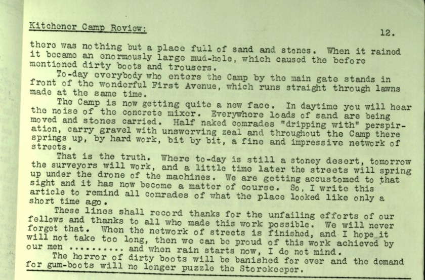 KC Review, no. 7, September 1939, page 12, top