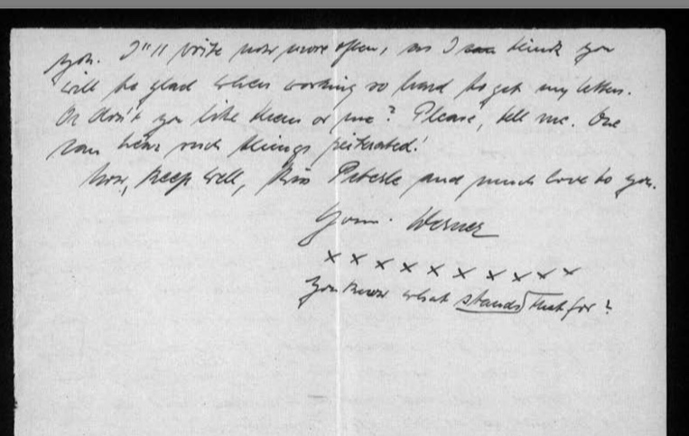 Werner Gembicki, Kitchener camp, Letter, 19 February 1939, page 4