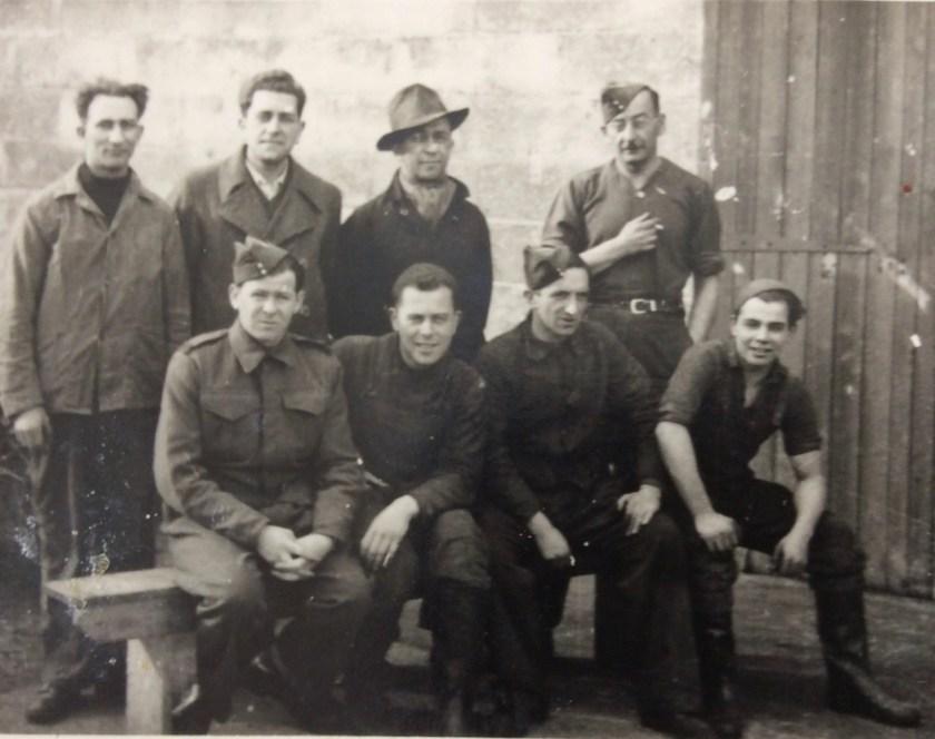 Kitchener camp, Pioneer Corps Training Ground No. 3, Julius Gildener, subjects unknown