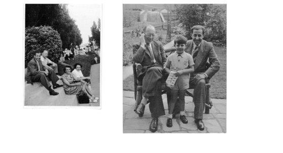 Kitchener camp, Julius Wolffsberg, Alexander Guhrauer, Harry Hurst, 1946