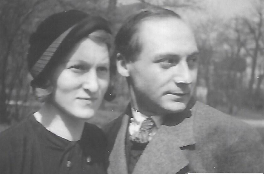 Kitchener camp, Hermann Renkazischock, with Lina