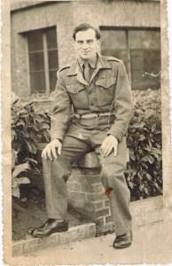Kitchener camp, Alfons Schüler, Pioneer Corps uniform