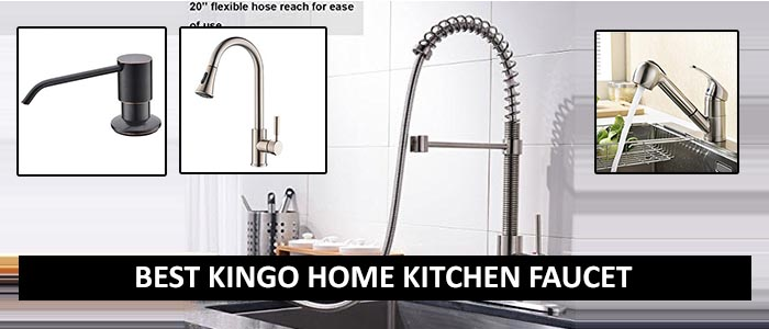 Best Kingo Home Kitchen Faucet