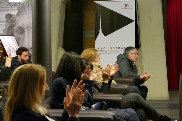 Giusi Mainardi, Steve Della Casa, Emanuela Piovano, Silvia Delfuoco Museo Nazionale del Cinema