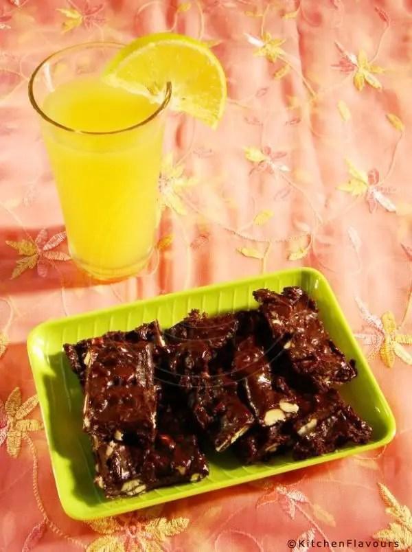 Chocolaty Cashew Bars