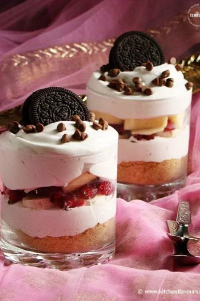 Fruit and Cream Trifle